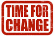 Time for change 1